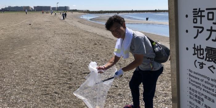東京屋形船 網さだ 葛西臨海公園西なぎさ海浜清掃