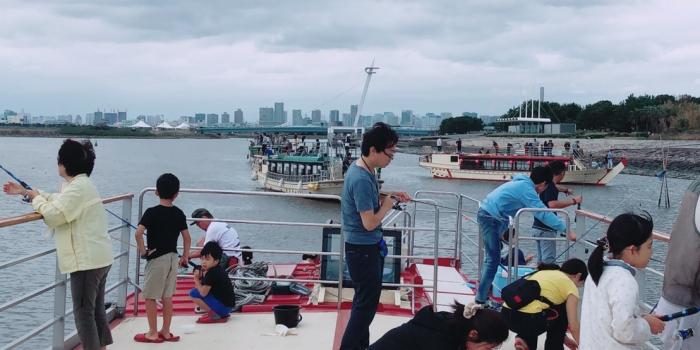 屋形船東京 網さだ 昼間の屋形船 屋形船ハゼ釣り